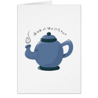 Drink It Greeting Cards