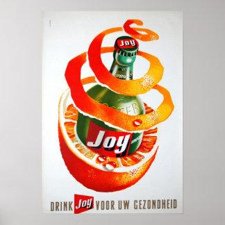 Drink Joy Poster