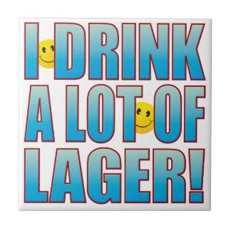 Drink Lager Life B Tile