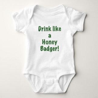 Drink like a Honey Badger Shirts