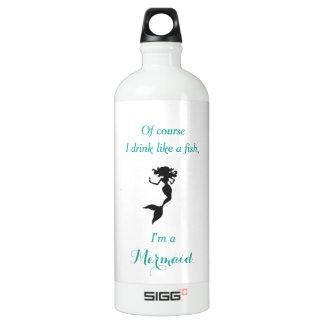 Drink Like a Mermaid SIGG Traveller 1.0L Water Bottle