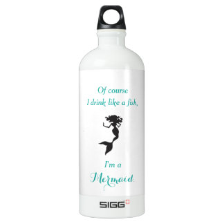 Drink Like a Mermaid Water Bottle