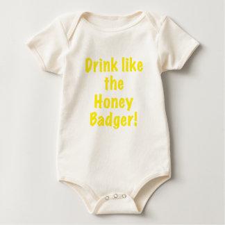 Drink like the Honey Badger Romper