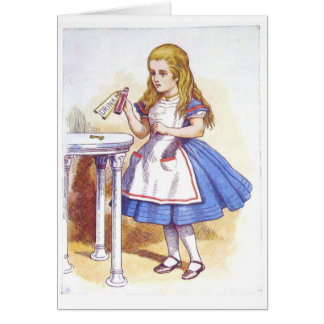Drink Me, Alice! Card