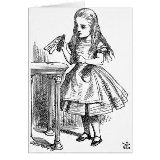 Drink Me (Alice in Wonderland) Card