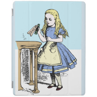 Drink me Alice in Wonderland iPad design classic iPad Cover
