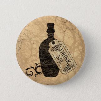 Drink Me Bottle 6 Cm Round Badge