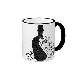 Drink Me Bottle Coffee Mug