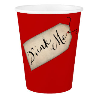 Drink Me Paper Cup