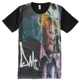 DRINK ME T SHIRT BY DMT All-Over PRINT T-Shirt