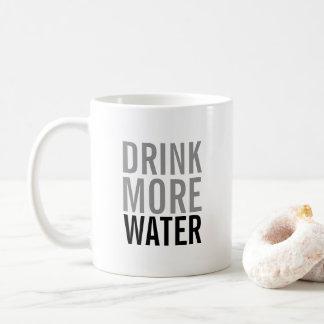 Drink More Water | Simple Minimalist Coffee Mug
