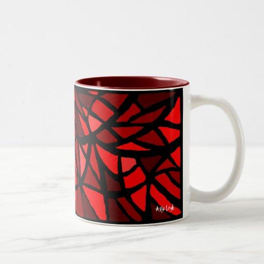 Drink My Blood Two-Tone Coffee Mug