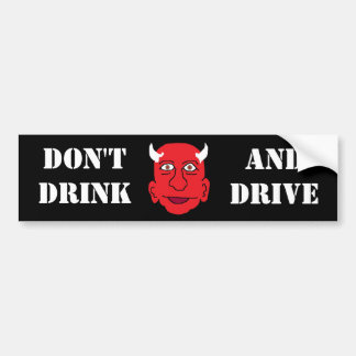 DRINK N DRIVE BUMPER STICKER