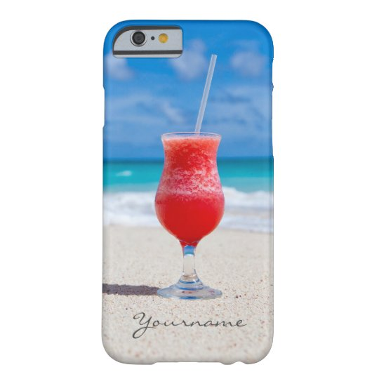 Drink On Beach custom monogram phone cases