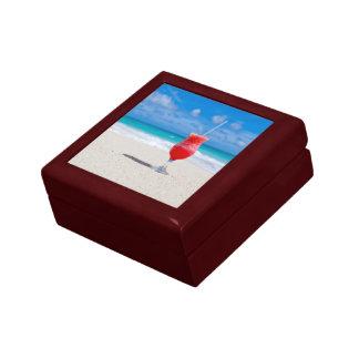 Drink On Beach gift / jewelry box