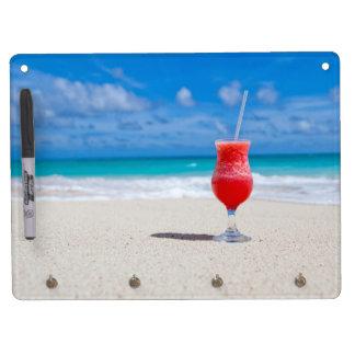 Drink On Beach message board Dry Erase White Board