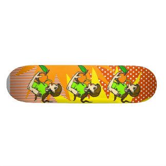 Drink Orange Juice Skate Board Decks