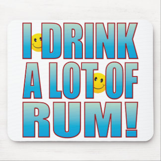 Drink Rum Life B Mouse Mat