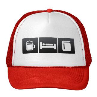 Drink, Sleep and Address Books Cap