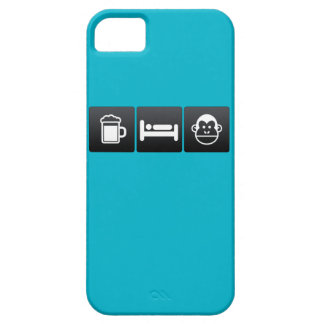 Drink, Sleep and Chimps Barely There iPhone 5 Case