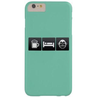 Drink, Sleep and Chimps Barely There iPhone 6 Plus Case