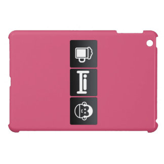 Drink, Sleep and Chimps Cover For The iPad Mini