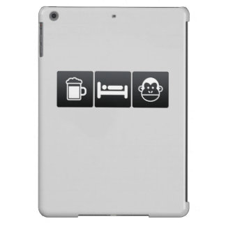Drink, Sleep and Chimps iPad Air Cover