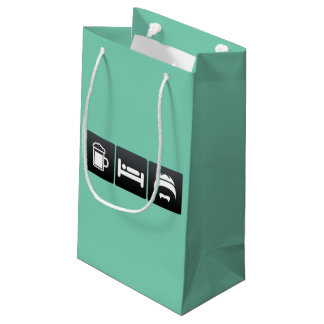 Drink, Sleep and Chinese Culture Small Gift Bag