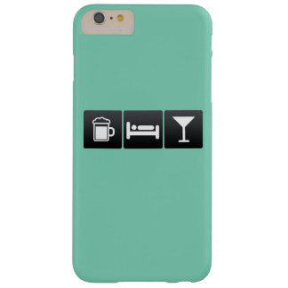 Drink, Sleep and Drinking Cocktails Barely There iPhone 6 Plus Case