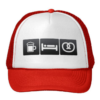 Drink, Sleep and Pretzels Cap