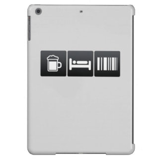 Drink, Sleep and Scanning Barcodes iPad Air Case