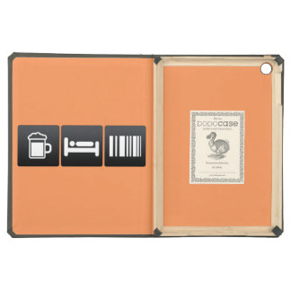 Drink, Sleep and Scanning Barcodes iPad Air Cases