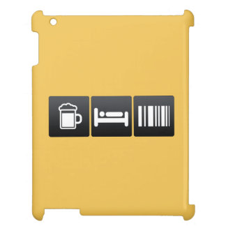 Drink, Sleep and Scanning Barcodes Cover For The iPad 2 3 4