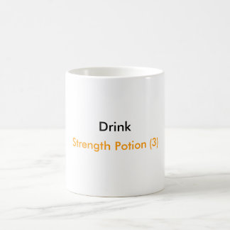 Drink, Strength Potion (3) Coffee Mug