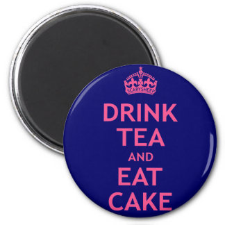 Drink Tea and Eat Cake Magnet