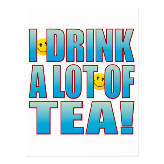 Drink Tea Life B Postcard