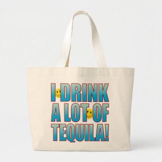 Drink Tequila Life B Large Tote Bag