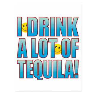 Drink Tequila Life B Postcard