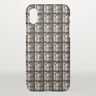 Drink Thief Cat by Shirley Taylor iPhone X Case