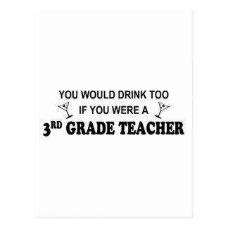 Drink Too - 3rd Grade Postcard