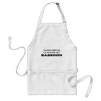 Drink Too - Bassoon Standard Apron