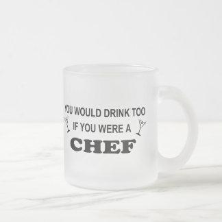 Drink Too - Chef Coffee Mug