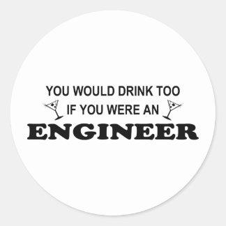 Drink Too - Engineer Stickers