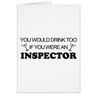 Drink Too - Inspector Cards