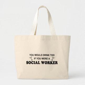 Drink Too - Social Worker Bag