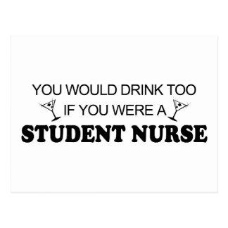 Drink Too - Student Nurse Postcards