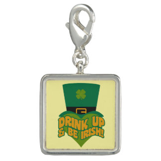"""Drink Up & Be Irish!""  charms / bracelets"
