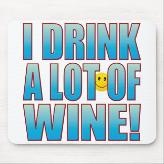 Drink Wine Life B Mouse Mat