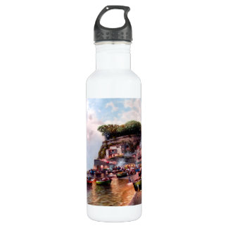 Drink with the fishermen. 710 ml water bottle