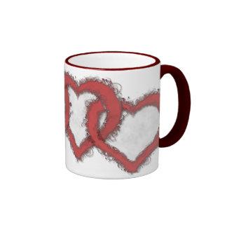 Drink Your Heart Out Ringer Mug